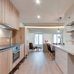 آشپزخانه توسطLara Pujol  |  Interiorismo & Proyectos de diseño
