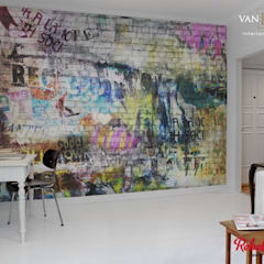 牆面 by vanHenry interiors & colours