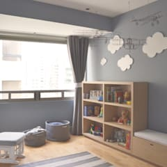 Proyecto para cuarto de bebe: Recámaras para bebés de estilo  por CuboB Arquitectura de Interiores