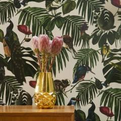 Tapety z motywem zwierząt i roślin: styl , w kategorii Ściany zaprojektowany przez Wzorywidze.pl,