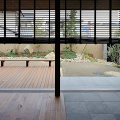 NIIHAMA House: 澤村昌彦建築設計事務所が手掛けた庭です。