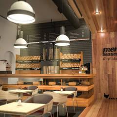 la formidable: Locales gastronómicos de estilo  por Adrede Diseño, Clásico