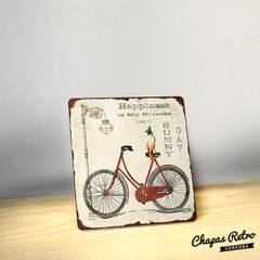 Chapas Vintage: Hogar de estilo  por Chapas Retro