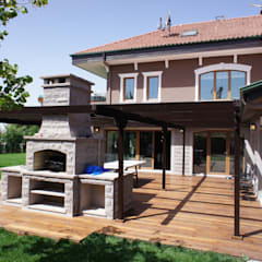 RETA Architecture-Interior-Industrial Design – Ankara Villa:  tarz Evler, Modern