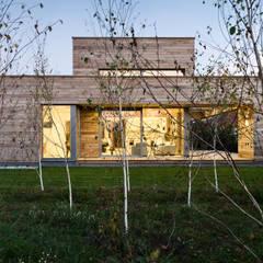 Cedar House od Fotografia Przemysław Turlej Skandynawski Drewno O efekcie drewna