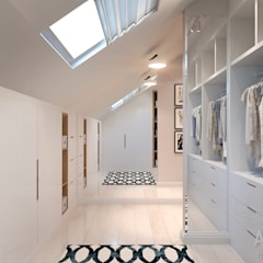 Студия авторского дизайна ASHE Home:  tarz Giyinme Odası