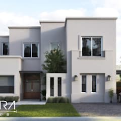 Galeria 1: Casas de estilo clásico por Creatura Renders