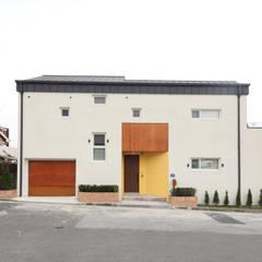 대전 죽동주택 - 도로를 등지고 집을 앉히다: 주택설계전문 디자인그룹 홈스타일토토의  주택