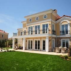 NGY Mimarlık – bolluca neogölpark evleri - 1.etapta 80 adet 400 m2 villanın ince yapı işleri uygulama kontrollüğü: kırsal tarz tarz Evler