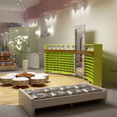 1: Торговые центры в . Автор – Первое Дизайн-Бюро
