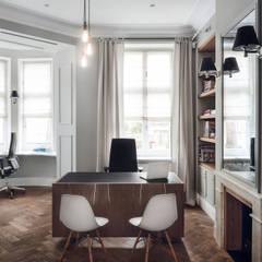 JT GRUPA - biuro: styl , w kategorii Przestrzenie biurowe i magazynowe zaprojektowany przez JT GRUPA