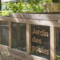 Un poulailler pour Paris: Centre d'expositions de style  par Fertiles