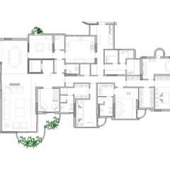 planta Casas modernas por RASSINI arquitetura Moderno