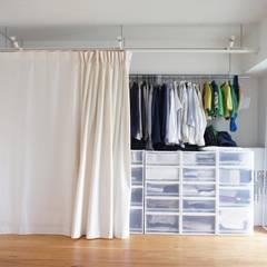 都島のマンションリフォーム ミニマルスタイルの 寝室 の ニュートラル建築設計事務所 ミニマル