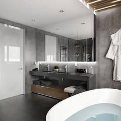 APARTMENT/6 Ванная комната в скандинавском стиле от ONE STUDIO Скандинавский