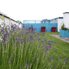 Roślinność w ogrodzie na tarasie.: styl , w kategorii Ogród zaprojektowany przez Zieleń i Przestrzeń