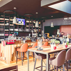 Rosso:  Gastronomy by CCD Architects
