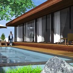 Imagem 3D: Casas  por Lethes House