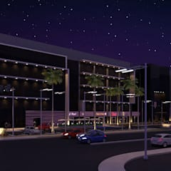 Royal Business Center: Centros comerciales de estilo  por NOGARQ C.A.
