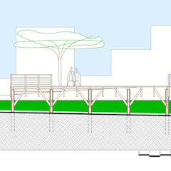 Event venues by Douglas Piccolo Arquitetura e Planejamento Visual LTDA.