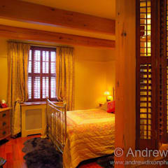 Shutters:  Bedroom by Andrew Dixon Photography