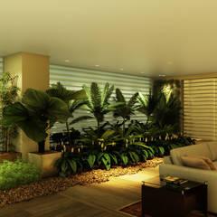 eclectic Conservatory by Eduardo Novaes Arquitetura e Urbanismo Ltda.