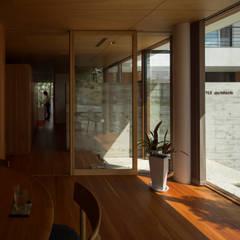 私の家 モダンデザインの 書斎 の TRANSTYLE architects モダン
