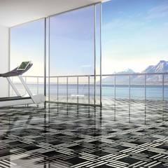 Weave Inlay Flooricovering by Kreoo:  Gym by Kreoo