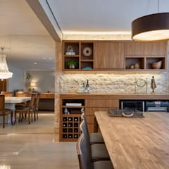 قبو النبيذ تنفيذ Juliana Goulart Arquitetura e Design de Interiores