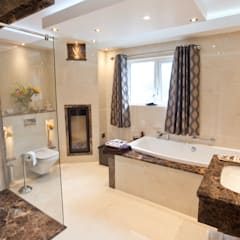 Luxury Marble Bathroom:  Bathroom by Banbridge Bathroom Centre