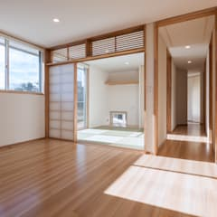 郡山・向作の家: 清建築設計室/SEI ARCHITECTが手掛けた寝室です。