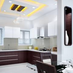 Kitchen Designs:  Kitchen by I Nova Infra,