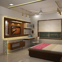 Bedroom designs:  Bedroom by Optimystic Designs