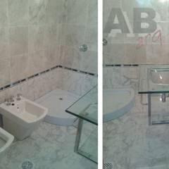 Interiores: Baños de estilo  por Arq. Alejandra Bruno