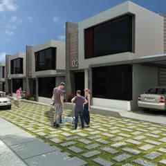 O Village: Casas de estilo  por NOGARQ C.A.