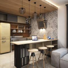 Kitchen by SIBEL SARIKAYA INTERIOR DESIGN OFFICE