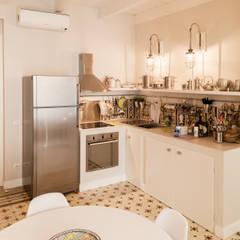 Built-in kitchens by Stefano Ferrando, Mediterranean