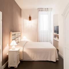 Bedroom by Studio Vetroblu_Stefano Ferrando, Mediterranean