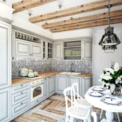 mediterranean Kitchen by GraniStudio