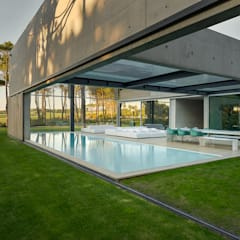 Kolam Renang oleh guedes cruz arquitectos