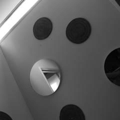 Casa Azul: Baños de estilo  por Guadalupe Larrain arquitecta,Industrial