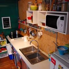 Casa Azul Cocinas industriales de Guadalupe Larrain arquitecta Industrial