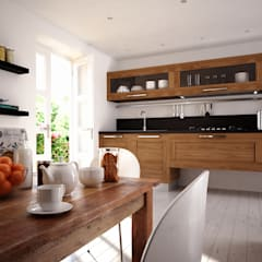 Breakfast is on the table: Cozinhas  por 3DYpslon