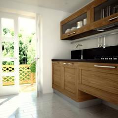Breakfast is on the table Cozinhas rústicas por 3DYpslon Rústico