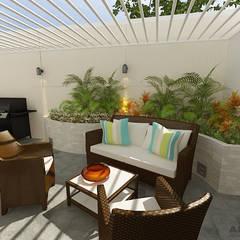Residencia Unifamiliar: Casas de estilo minimalista de Arte 5 Remodelaciones