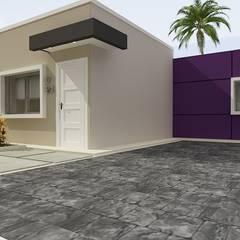 Fachada residencia Tipo 1 Imagénes virtuales: Casas de estilo minimalista de Arte 5 Remodelaciones
