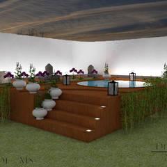 توسط Diogo Alvarez Arquitetura e projetos 3D مدرن چوب Wood effect