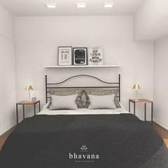 Obra Cochrane - Diseño Habitación principal: Dormitorios de estilo  por Bhavana