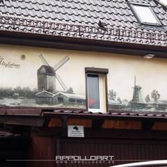 متاحف تنفيذ  Wandgestaltung Graffiti Airbrush von Appolloart