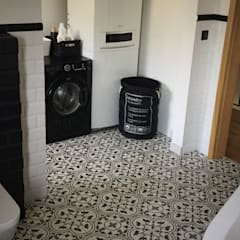 Płytki cementowe Frank: styl , w kategorii Łazienka zaprojektowany przez Kolory Maroka